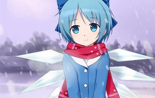 cirno winter