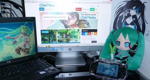 Escritorio otaku por lezhiro