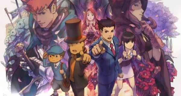"Reseñas Gamer: ""Profesor Layton vs Phoenix Wright: Ace Attorney"" para 3DS"