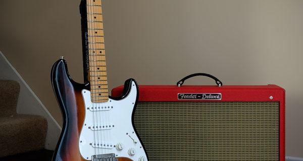 Fender stratocaster amp deluxe por effstopate