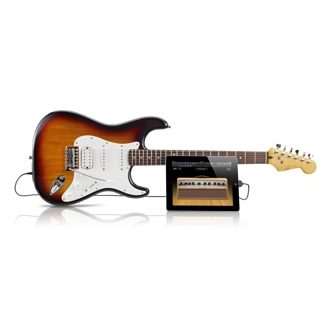 Lanzan guitarra Fender con puerto USB incluido para GarageBand