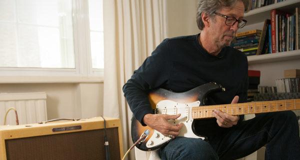 "Fender lanza nueva Stratocaster ""Bownie"" en tributo a Eric Clapton"