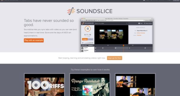 sound slide – thumb