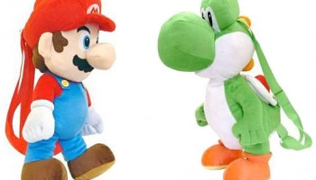 Super Mario Plush Backpacks