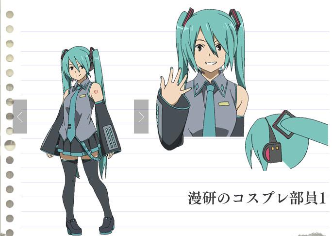 De Forma Similar Como Sucedio Con El Anime Lucky Star Estudio Kyoto Animation Hara Que En Su Serie Hyouka Aparezca La Famosa Idol Virtual Miku