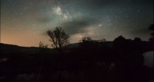 The galaxy from Gudarinuma marsh