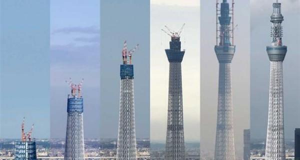 consutruccion Tokyo Sky Tree