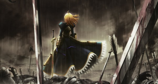 fatezero saber fate zero 01010101