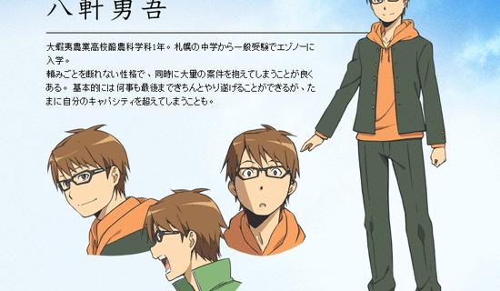 Silver Spoon – Ryohei Kimura como Yugo Hachiken
