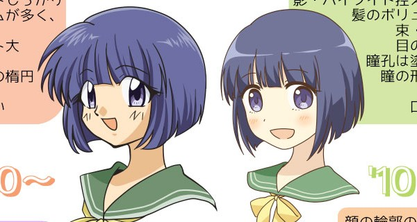 anime 90s vs nuevos 10s