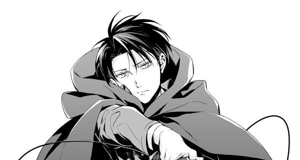 Shingeki no Kyojin Levi—Por ryugo
