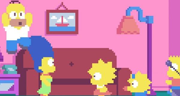 Simpsons 8 bits