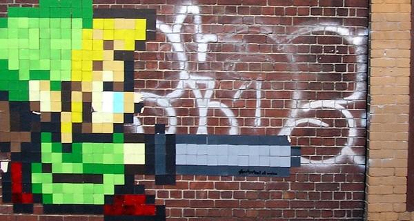 Zelda Pixel Art—CC por witness_1