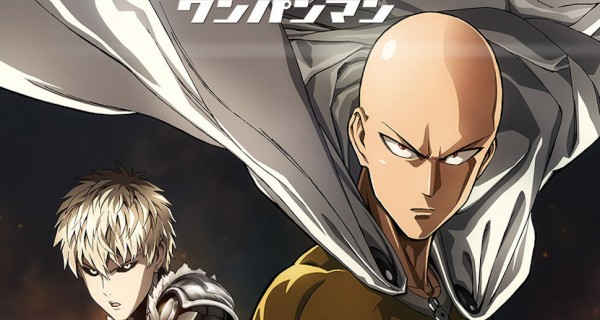 One Punch Man anime cover