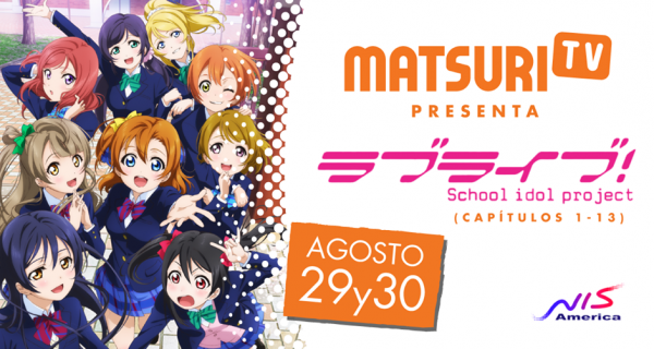 love live matsuri tv