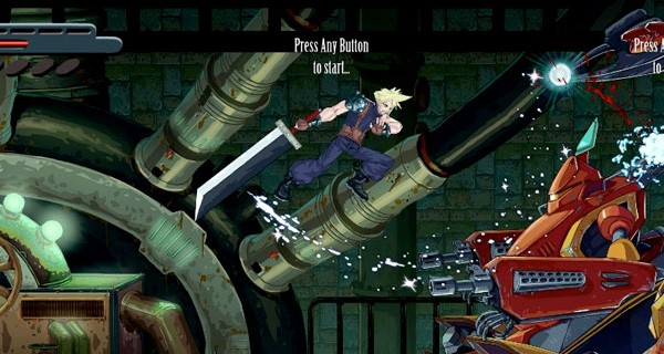 Final Fantasy vii reimaginated 2d