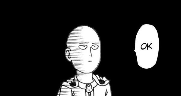 One punch man ok manga