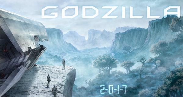 Godzilla Anime 2017