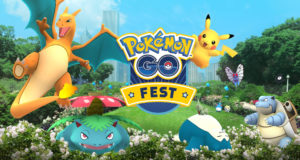 Pokemon go Fest Aniversario