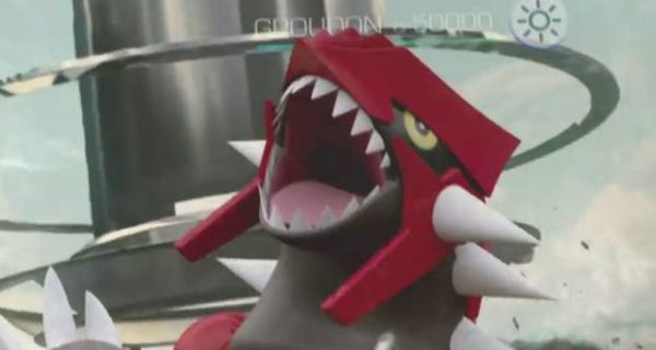 Pokemon GoGroudon hoenn 3ra generacion