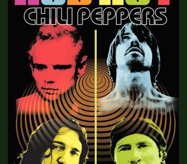 red hot chili peppers colour me