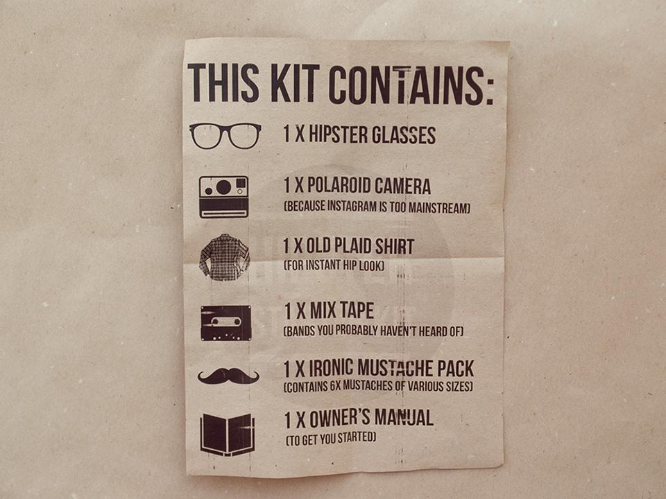 Hipster starter Kit 2
